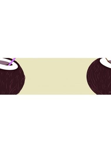Artikel Coconut Desenli Runner Masa Örtüsü 43,5X141,5Cm Renkli